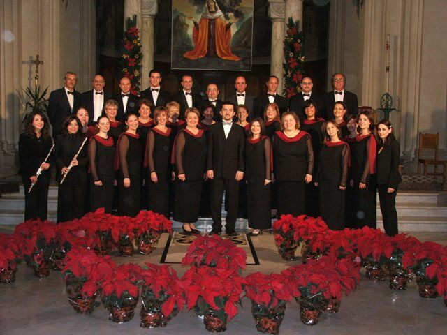Christmas concert at St. Gregory's