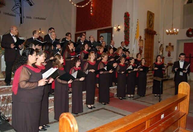 Christmas concert at Ta\' Xbiex