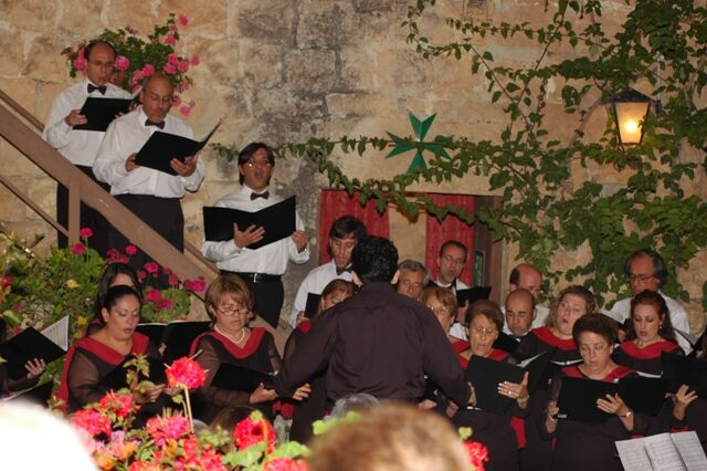 Charity concert at Torri Lanzun, 16/Jun