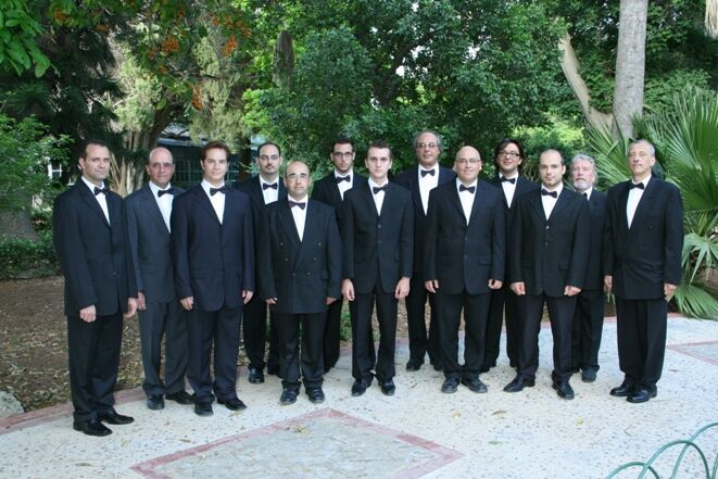 The males at San Anton Gardens