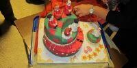 Social gathering - surprise birthday cake!