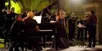 TNCS with Claudia Tabone (Soprano) at the Malta Arts Festival 2013 - Photo by Elisa von Brockdorff