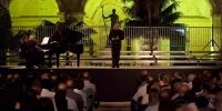 TNCS with Albert Buttigieg (Bass) at the Malta Arts Festival 2013 - Photo by Elisa von Brockdorff